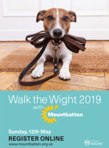 Walk the Wight dog advert